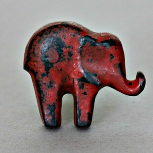 Elephant Cabinet Novelty Knob (Set of 2)