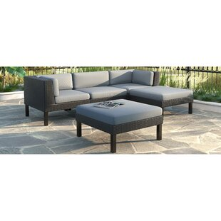 Woodbluff 5 Piece Sectional Set with Cushions