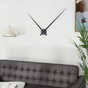 Bakke Little Big Time Alu Wall Clock