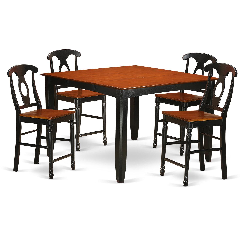 Red Barrel Studio Tamarack 5 Piece Counter Height Pub Table Set | Wayfair  sc 1 st  Wayfair & Red Barrel Studio Tamarack 5 Piece Counter Height Pub Table Set ...