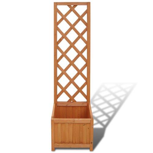 Wooden Planter Box with Trellis Freeport Park