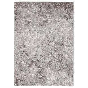Price comparison Alvina Geometric Gray/White Area Rug By Williston Forge