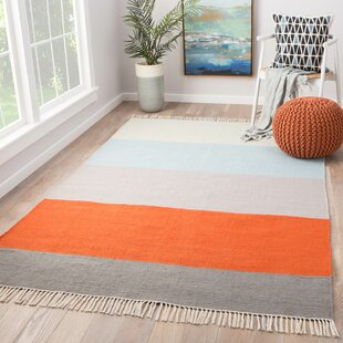 Tahoe Flat Woven Orange Indoor/Outdoor Area Rug