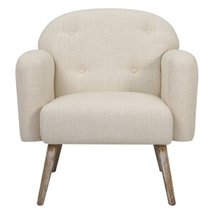 Farmington Fabric Arm Chair by George Oliver