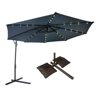 Trademark Innovations 10' Cantilever Umbrella