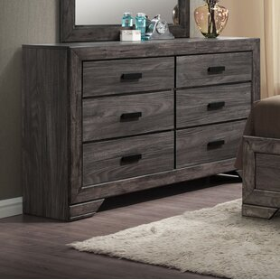 Raven 6 Drawer Double Dresser