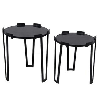 Brakebill 2 Piece Nesting Table by Ivy Bronx