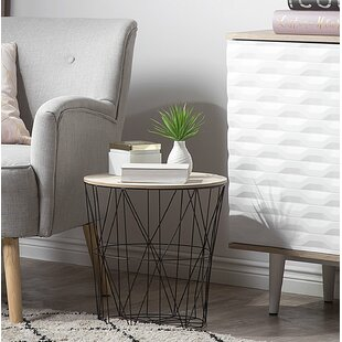 Kris End Table by Wrought Studio