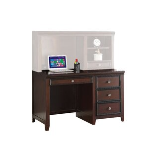 Canora Grey Drumfane Desk with Hutch