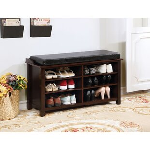 Aditya Wood Storage Bench