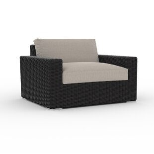 Borba Large Patio Chair with Cushion By Bungalow Rose