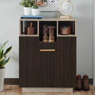 12 Pair Shoe Storage Cabinet By Ebern Designs
