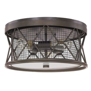 Affordable Ashley 3-Light Flush Mount By Laurel Foundry Modern Farmhouse