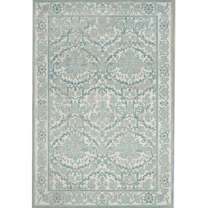 Montelimar Ivory/Light Blue Area Rug