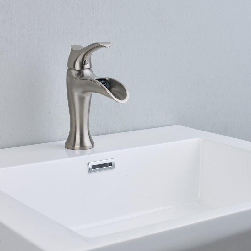 Swan Single Hole Bathroom Faucet