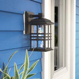 Order Barton 1-Light Outdoor Wall Lantern By Latitude Run