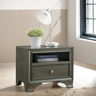 Hedin Wood 1 Drawer Nightstand by Red Barrel Studio