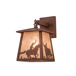 Meyda Tiffany Outdoor Wall Lantern
