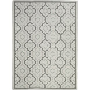 Driffield Light Gray IndoorOutdoor Area Rug