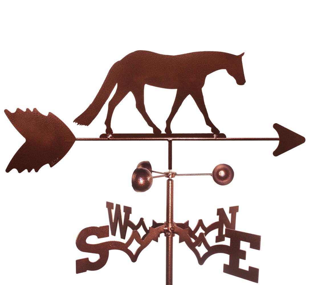 SWEN Products WESTERN PLEASURE HORSE Steel Weathervane