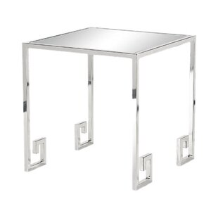 Jeremy Mirrored Side Table