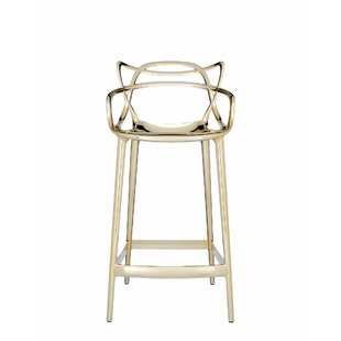 Masters Counter Stool Metallic by Kartell New