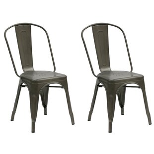 Dunamoy Metal Dining Chair (Set of 2)