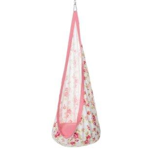 HearthSong Huggle Pod Blooming Chair hammock