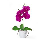 """17"""" Artificial Flowering Plant in Pot"""