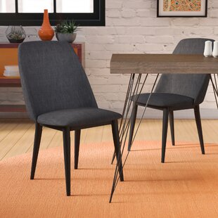 Dicus Upholstered Dining Chair (Set of 2) Ebern Designs