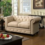 Molimo Chesterfield 67 Rolled Arm Loveseat by Darby Home Co