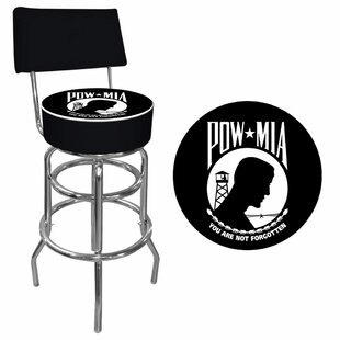 POW 31 Swivel Bar Stool Trademark Global
