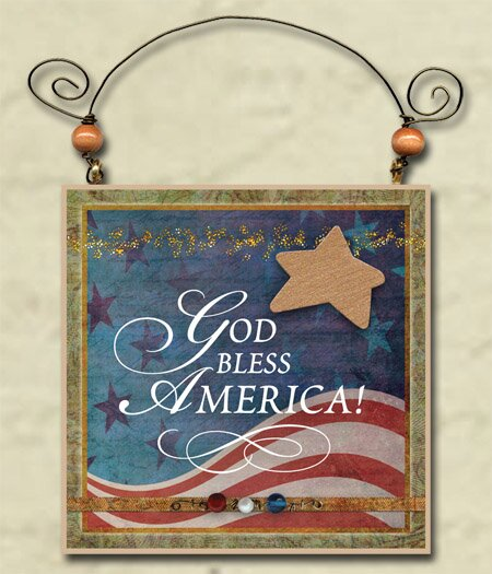 You're My Star Patriotic America Wall Décor