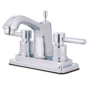 South Beach Centerset Bathroom Faucet with Brass Pop-Up ByElements of Design