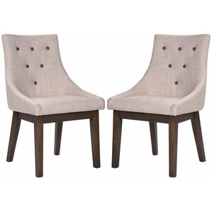Fabric Dining Side Chair (Set of 2) by Me..