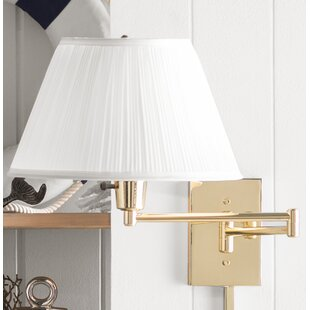 Devin 1-Light Swing Arm Lamp by Winston Porter