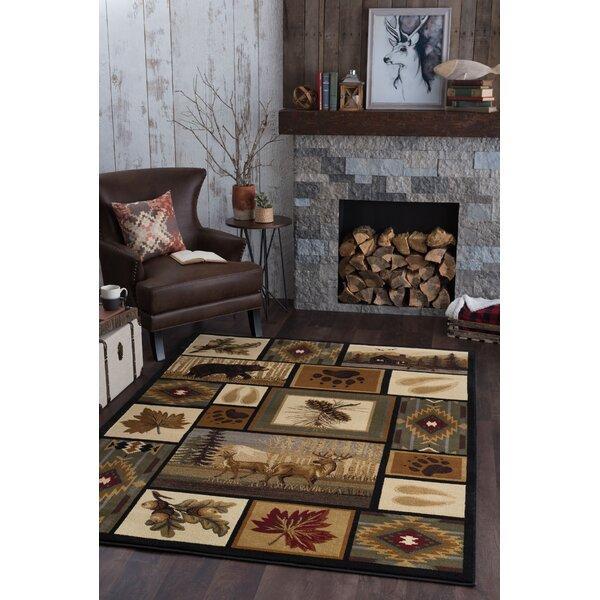 Log Cabin Area Rug Wayfair