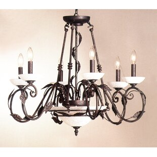 Classic Lighting Capri 8-Light Chandelier