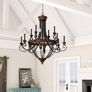 Nanteuil 12-Light Empire Chandelier by Laurel Foundry Modern Farmhouse