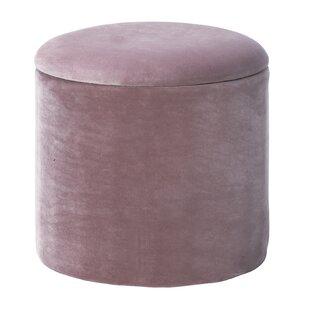 Castorena Round Storage Ottoman