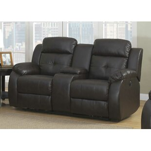 Morrone Transitional Power Reclining Loveseat