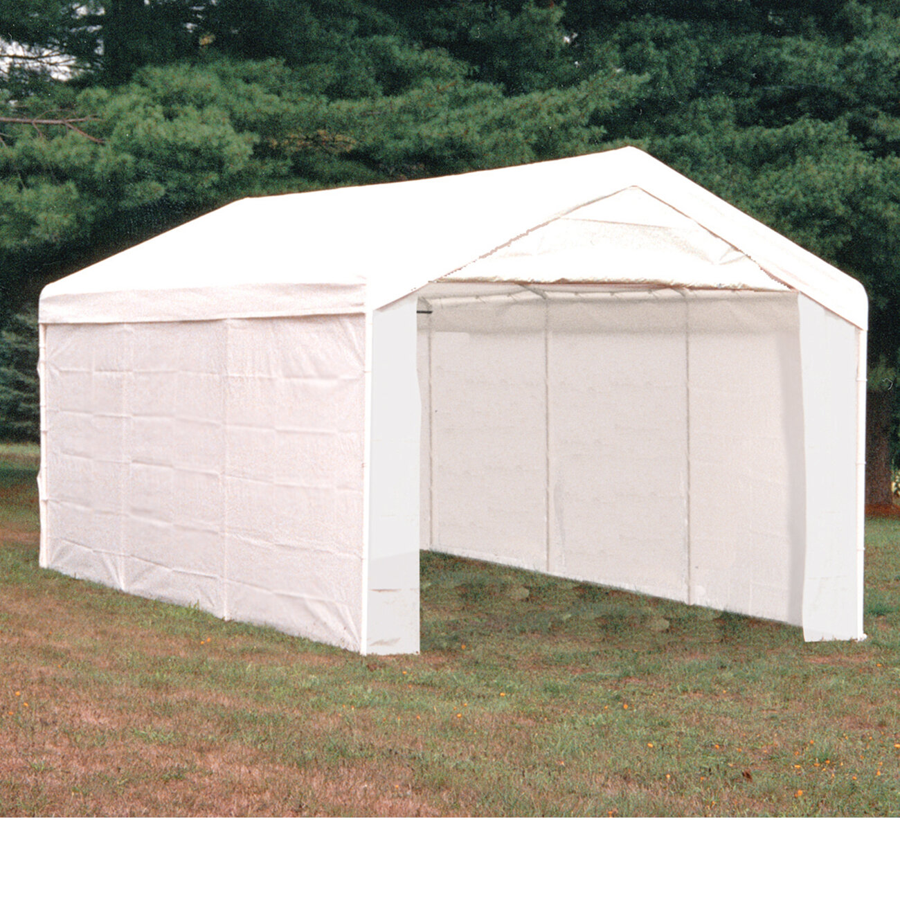Shelterlogic Maxap 10 Ft X 20 Ft Canopy 3 In 1 Enclosure Kit Reviews Wayfair