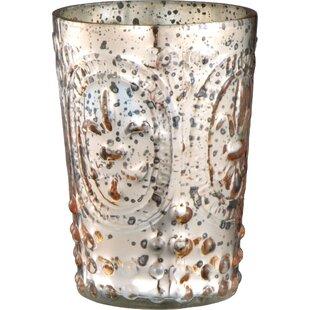 Antique Glass Votive Holder