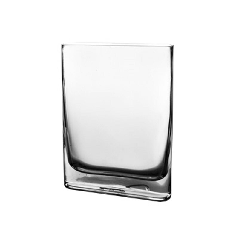 Cysexcel Glass Rounded Edge Rectangle Vase Wayfair