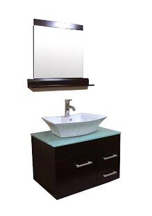 29 Single Bathroom Vanity Set with Mirror by Kokols