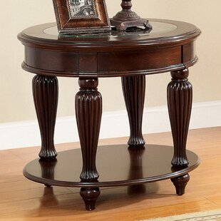 Gouge End Table by Astoria Grand