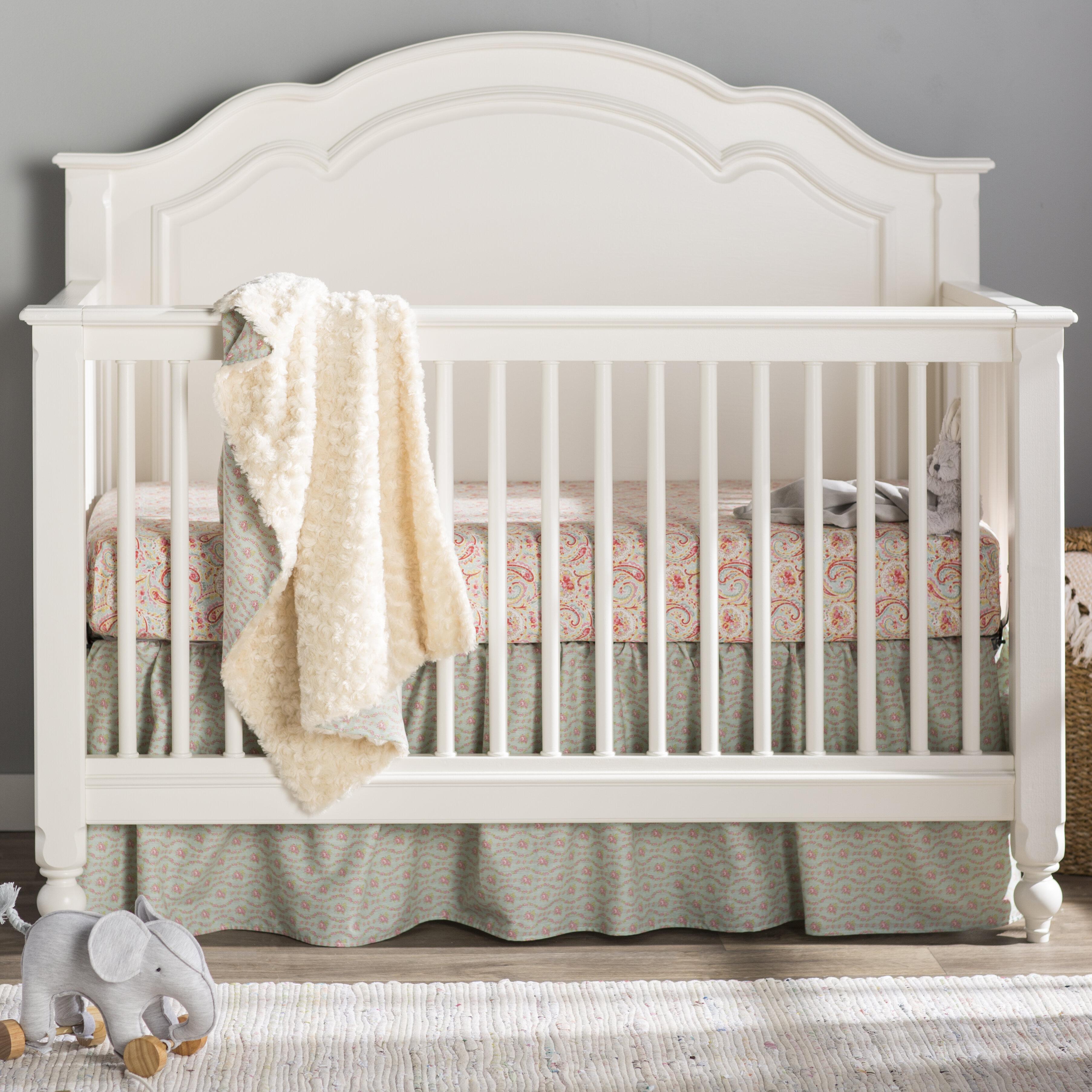 Harriet Bee Glastbury 3 Piece Crib Bedding Set Reviews Wayfair