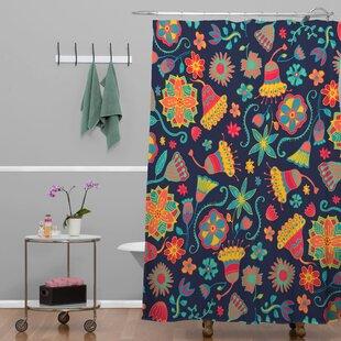 Bennette Bloom 1 Single Shower Curtain
