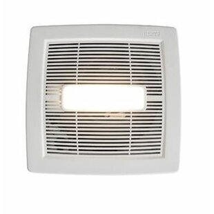 bbf865e8140 InVent Single-Speed 110 CFM Energy Star Bathroom Fan With LED Light