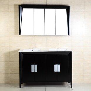 48 Double Sink Vanity by Bellaterra Home